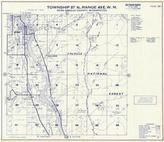 Township 37 N., Range 43 E., Sullivan, Ione, Colville National Forest, Pend Oreille County 1957